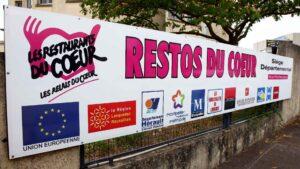 Les restos du Cœur de l'Hérault souhaite acheter un camion frigorifique et lance une cagnotte solidaire sur le web